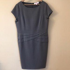 9&co gray dress women's 16